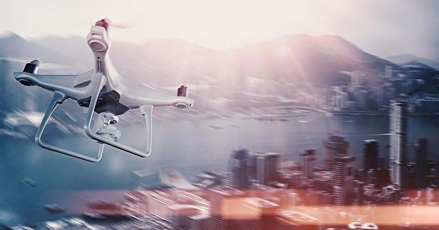 6 exemples d'applications du drone en entreprise